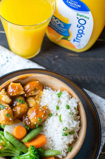 Orange Chicken Recipe for a quick weeknight meal!