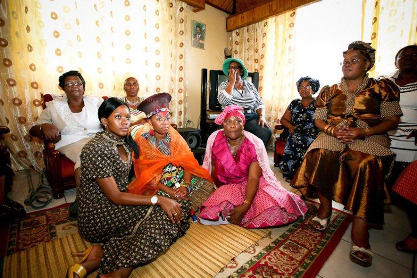 Traditional Wedding Dresses Sotho 2016 Styles