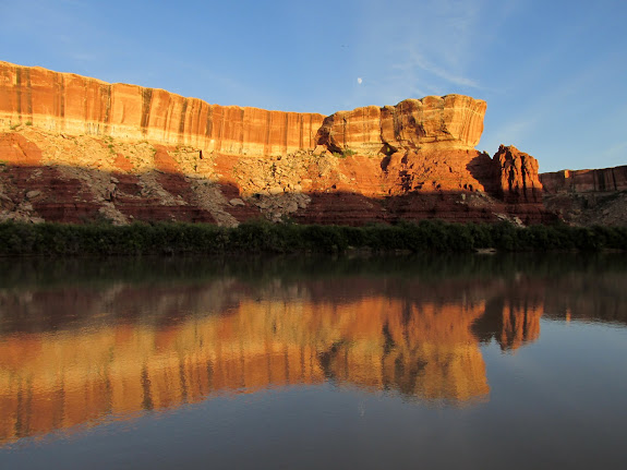 White Rim reflection