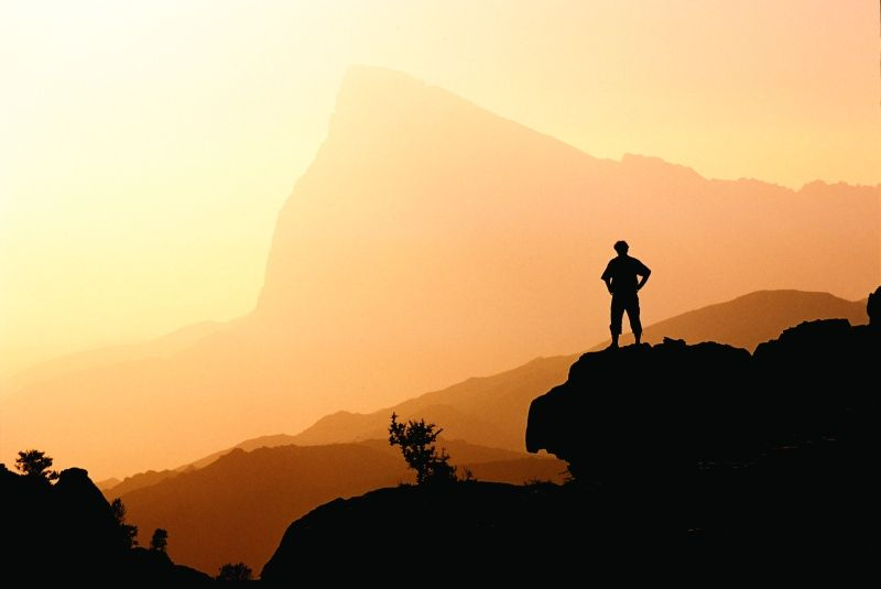Oman - desert mountains (photo credit: National Geographic magazine)