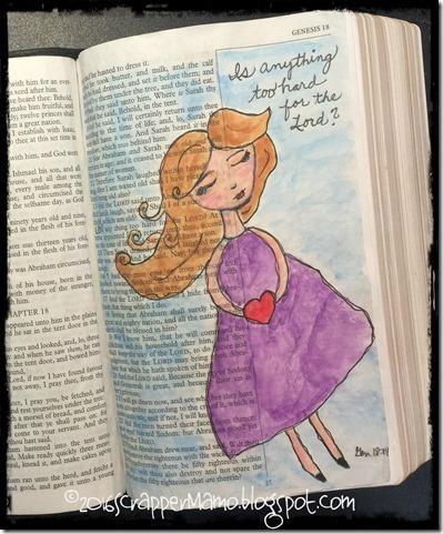 Bible Art - Women of Valor - Sarah