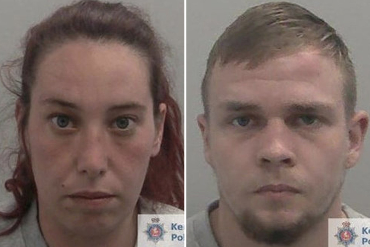 Mother of four and her boyfriend arrested after raping a woman in a cellar and filming the horrific attack