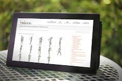 conception site web adaptatif capture écran pour tablettes tactiles Surface Pro sublimer présentation responsive web design // paris +33 06 8528 9977