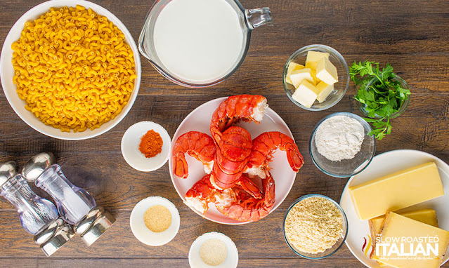 lobster mac and cheese ingredients