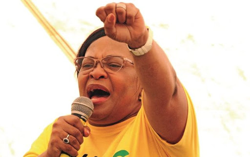 Nomvula Mokonyane. Picture: THE HERALD