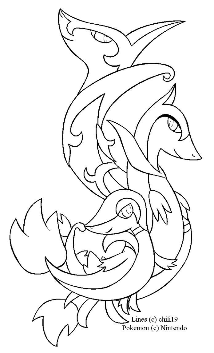 Top pokemon x and y starters coloring pages library for Pokemon x coloring pages