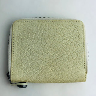 *SALE* Parabellum White Leather Wallet