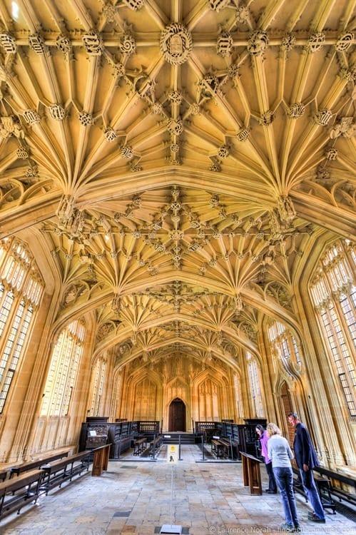 Harry Potter hospital location Oxford