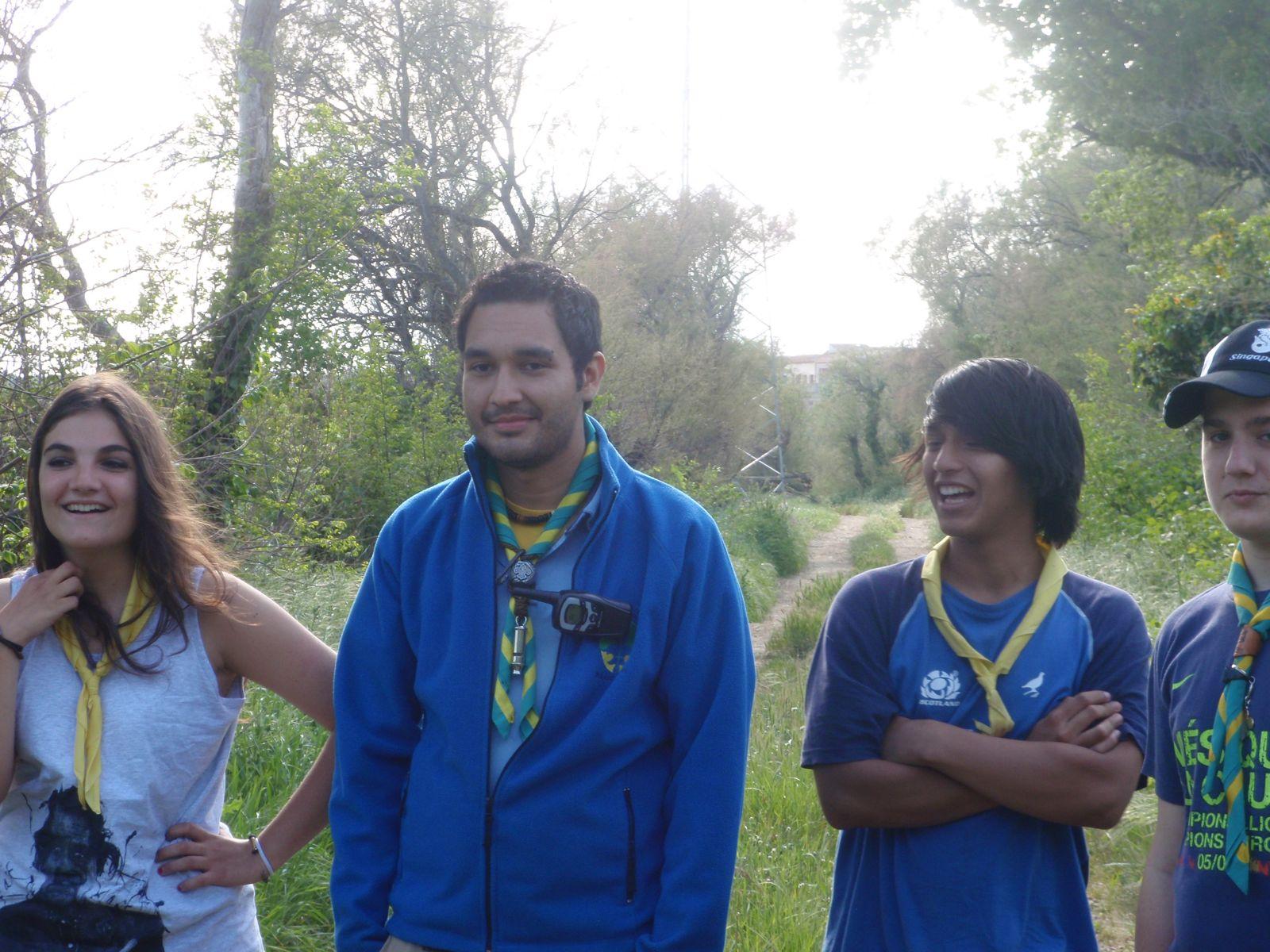 Campaments de Primavera de tot lAgrupament 2011 - P4170011.JPG