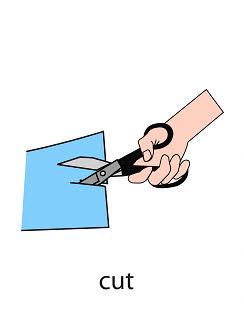 cut%2520 %2520flashcard Verb flashcard