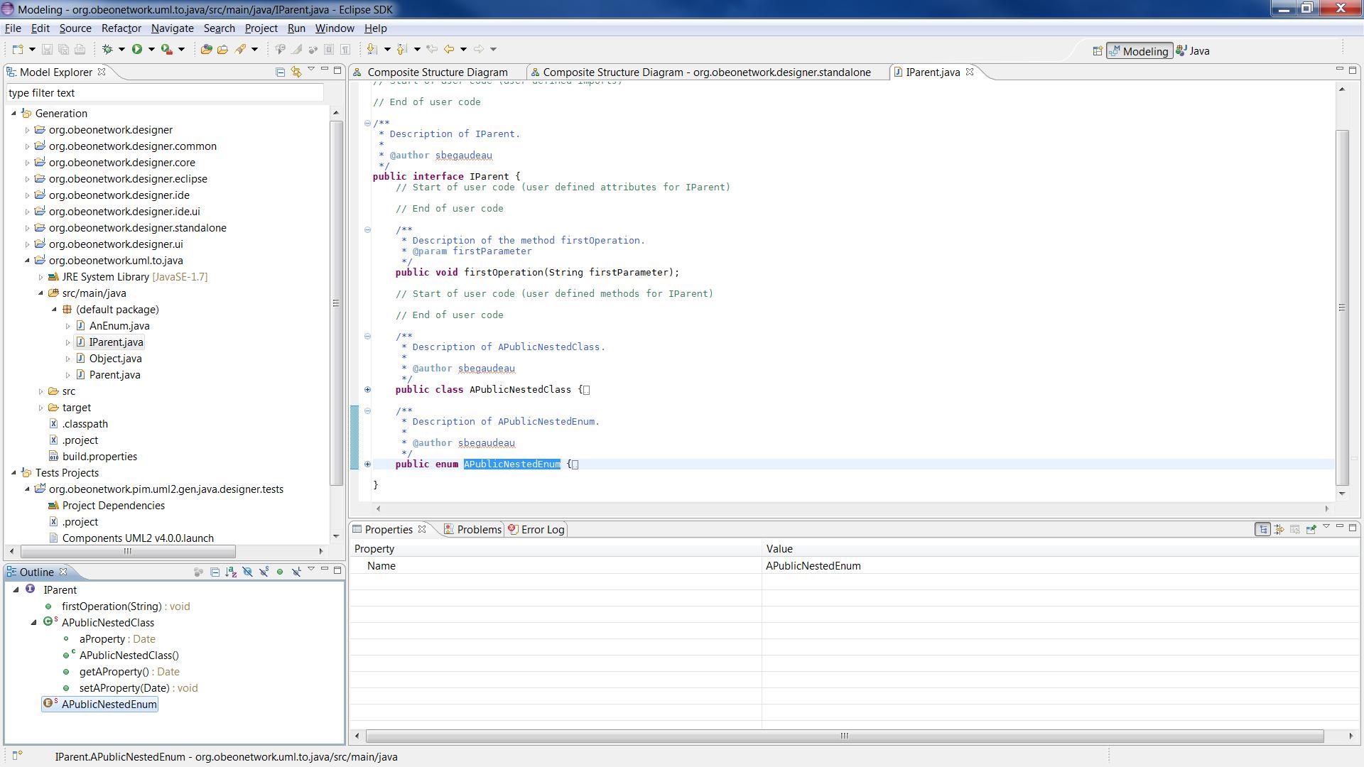 Module: Uml to Java Generator