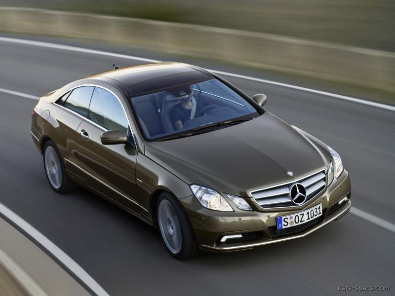 2011 mercedes benz e class coupe specifications pictures for Mercedes benz e class specifications