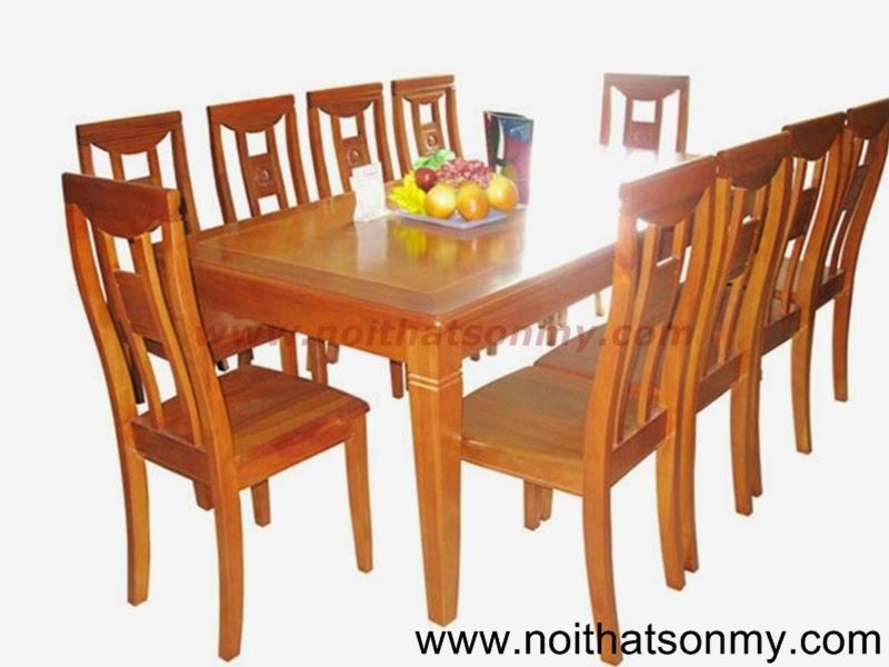 Bộ bàn ghế phòng ăn 01