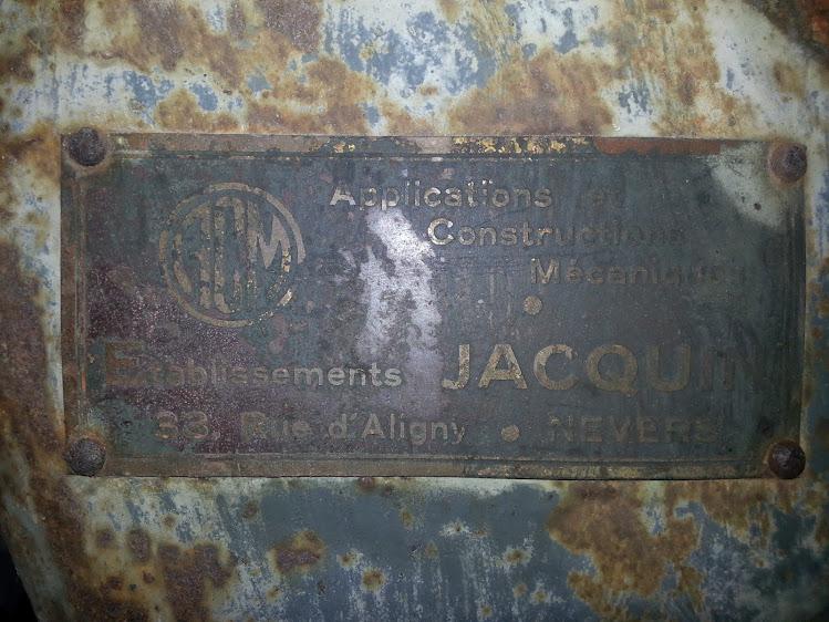 Ancienne scie à ruban Jacquin... La restauration est finie 20140108_153732