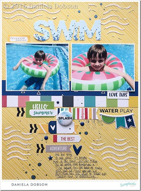 Swim by Daniela Dobson