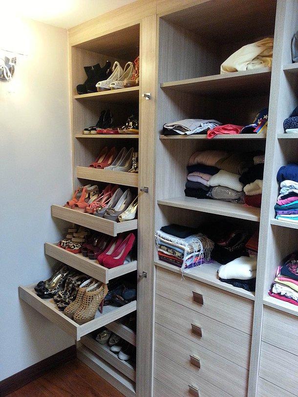 Muebles melam nicos para hogar y oficinas zapateras for Closet con zapatera