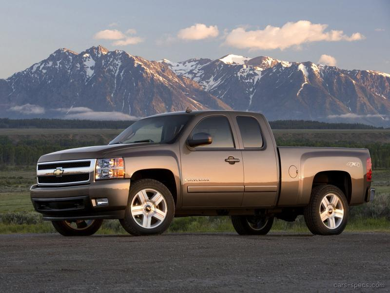 silverado cab extended chevrolet 2007 1500 classic truck specs pickup bed ltz v6 v8 work speed automatic specifications prices cars