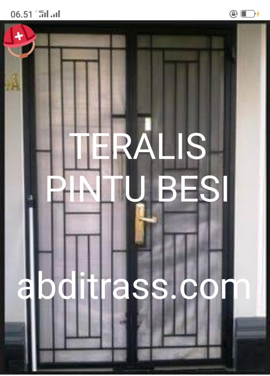Teralis Minimalis Besi Stainless Bogor