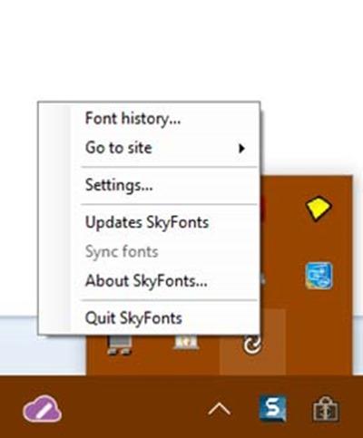 skyfonts-barra-applicazioni