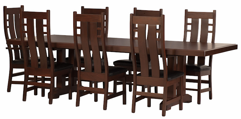 Handcrafted chairs benches and barstools with for 108 table seats how many