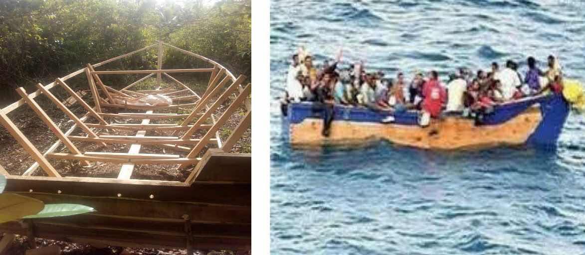 Armada de República Dominicana detiene 46 personas en operativos realizados en contra de los viajes ilegales.