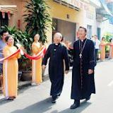 Lễ đặt viên đá đầu tiên xây Thánh Đường Phú Hòa - 2009