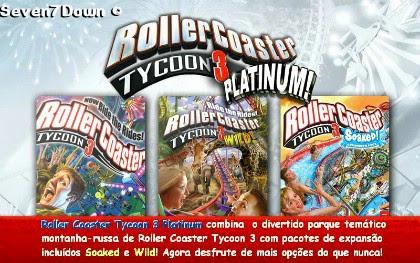 RoLLer Coaster Tycoon 3 PLatinum Em Português