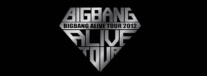 Portada para facebook de Logo del tour 2012 de Big Bang