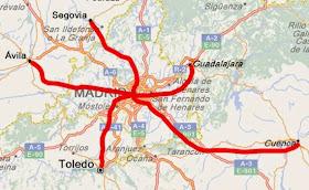Ruta MTB Cuenca-Madrid 'non-stop' - Sábado 25 de octubre 2014 ¿Te apuntas?