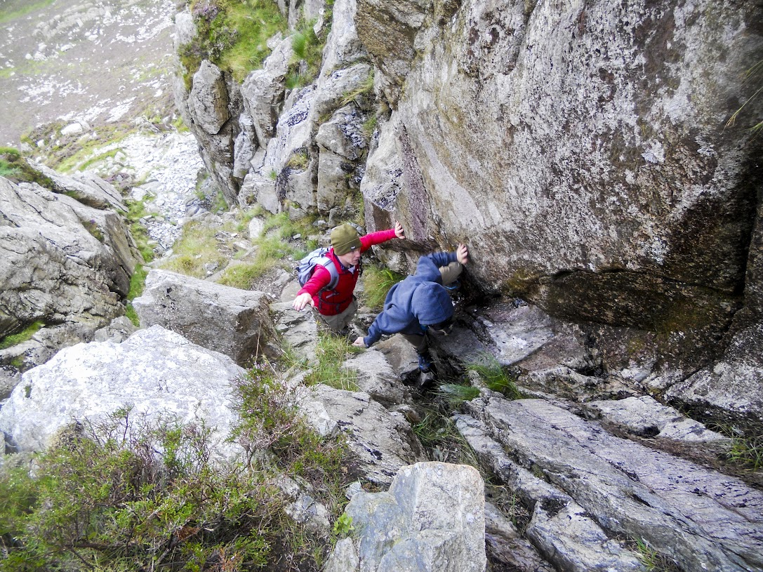 Scrambling on Nor Nor Groove