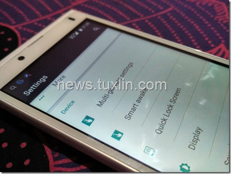 Menjajal Fitur Multi-gesture, Smart Awake & Quick Lock Screen di Himax Polymer 2