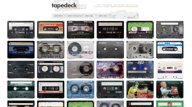 Site mostra a incrível beleza e (às vezes) estranheza encontrada nos designs de fitas cassete comuns