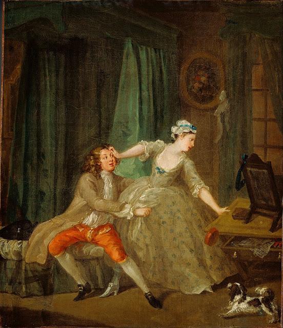 William Hogarth - Before