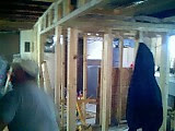 Framing and construction of Germantown Animal Hospital - 02-13-07_1212.jpg