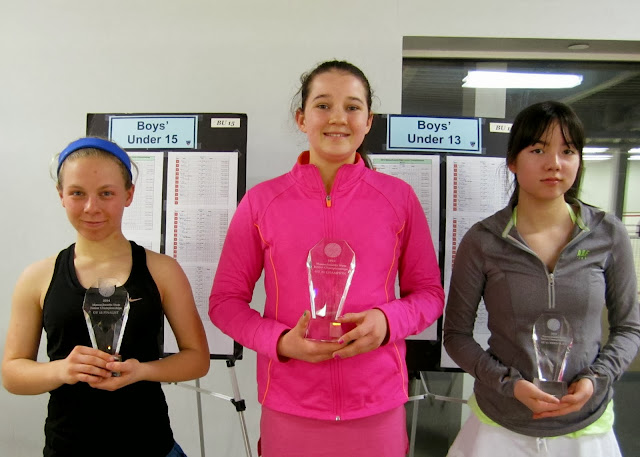GU 15: Finalist - Sarah Wilwerth (Needham, MA); Champion - Bunny Fox (Wellesley, MA); 3rd Place - Ideal Dowling (Narragansett, RI)