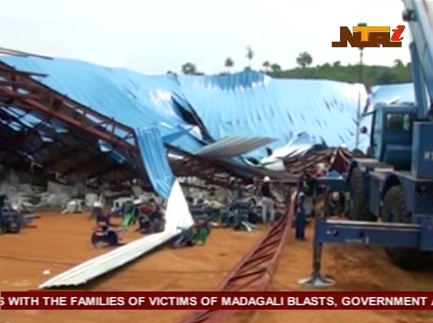 South East Nigerian Church ,Collapse ,Leaves Over 100 People Died .