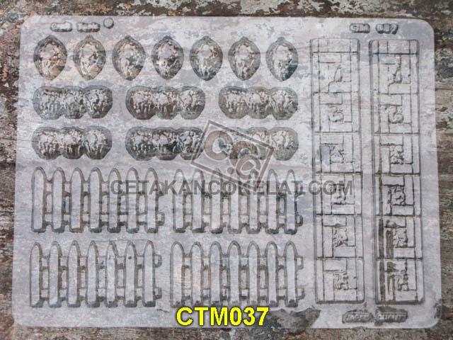 cetakan coklat cokelat ornamen pagar CTM37 CTM037