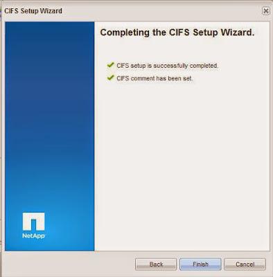 Activar protocolo CIFS en SAN NetApp