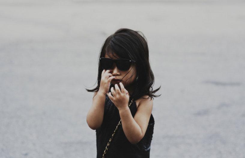 *Alexander Wang(王大仁)紐約時裝秀:小姪女時尚現身! 1