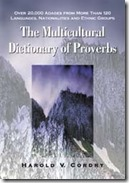Multicultural Dictionary of Proverbs-8x6