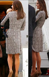 kate middleton duchess cambridge in grey print wrap dress max mara beige suede manolo blahnik shoes sydney airport april 6 2014 what she wore royal tour new zeland.jpg
