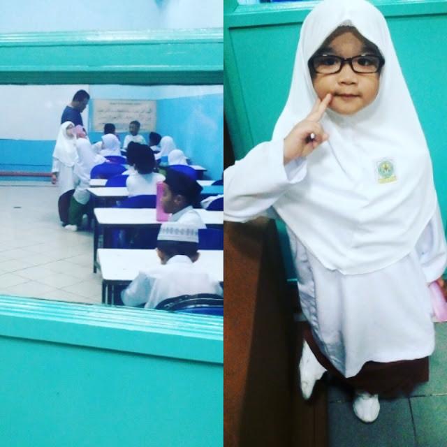 First day sekolah