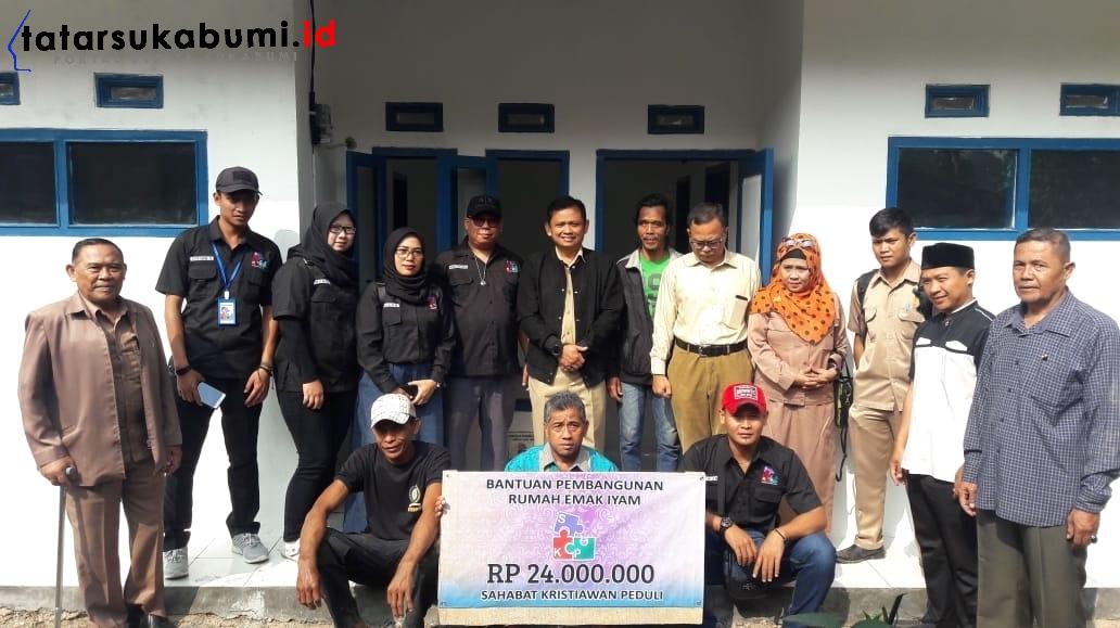 Tertimpa Durian Runtuh Jompo Tua dan Anak Berkebutuhan Khusus Penghuni Rutilahu di Sukabumi Terima Rumah Baru