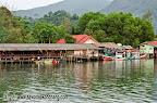 Iyara seafood restaurant on Klong Prao river