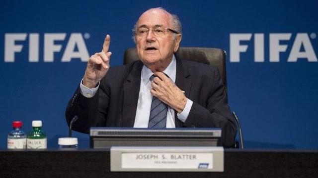 FORMER FIFA PRESIDENT SEPP BLATTER, 84, RUSHED TO HOSPITAL