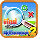 Find the differences 2 icon