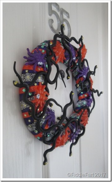 Halloween Door Wreath 9a