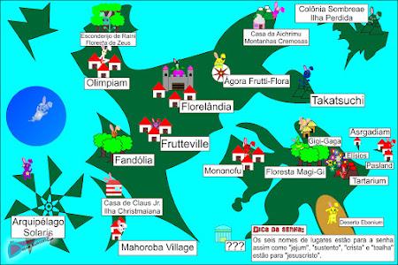 Mapa de Kabana-kai (果花界)!