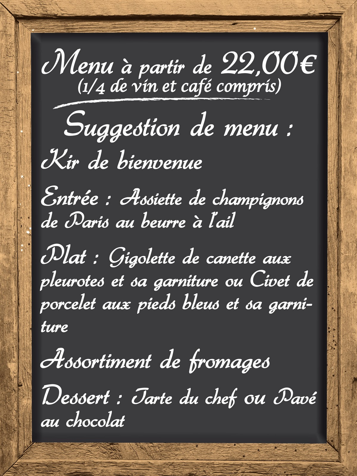 Préférence French Girl in Seattle: Au restaurant EL62
