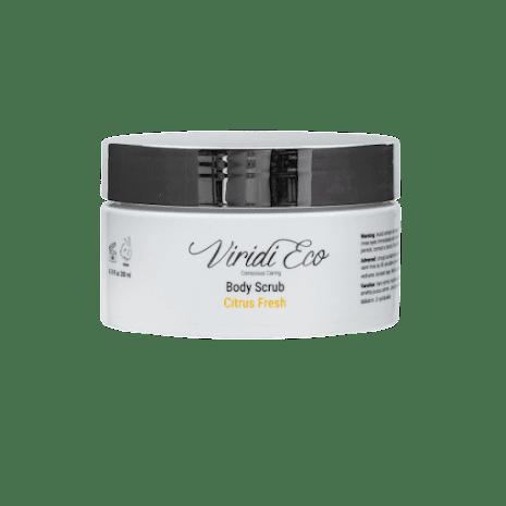 Body scrub citrus fresh